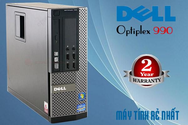 bộ máy tính để bàn Dell optiplex 990 cũ, cấu hình cao